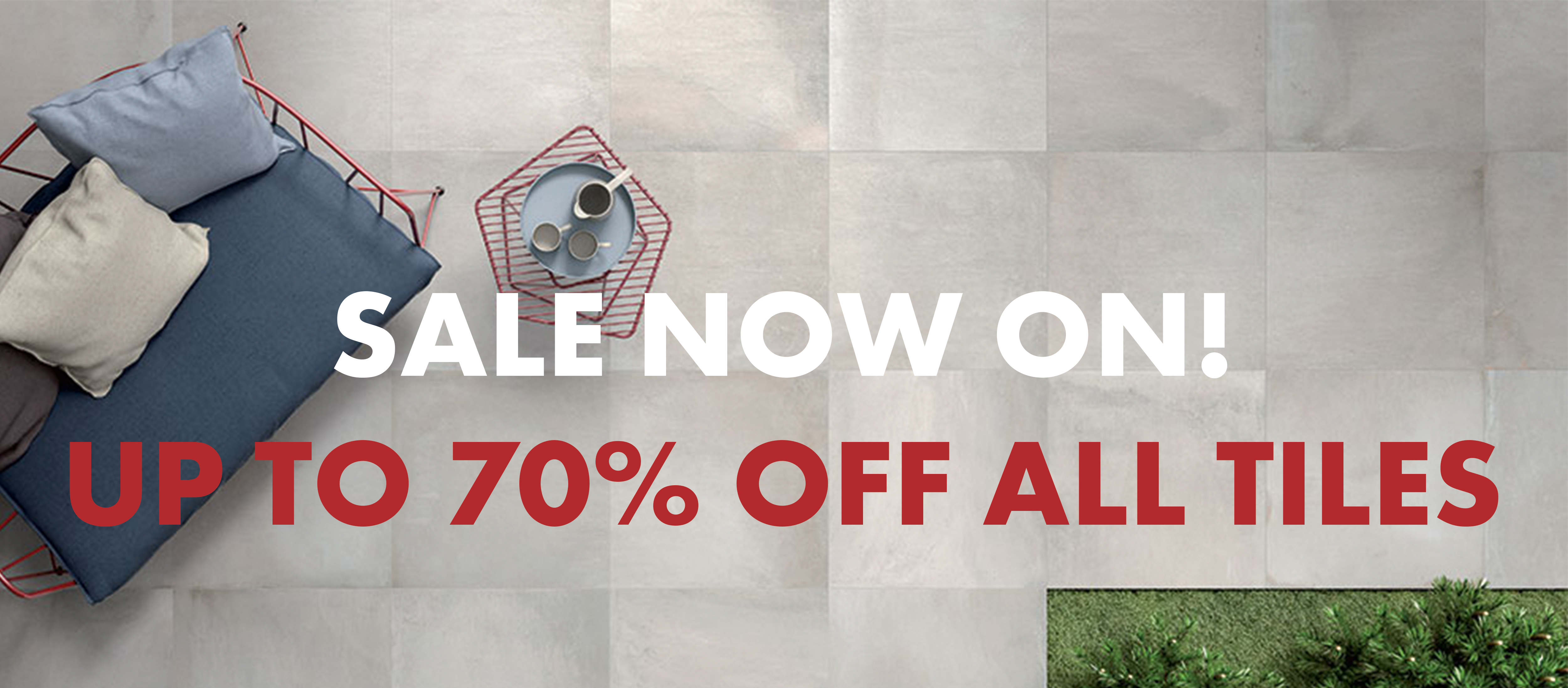 Up to 70% off all tiles! - News | Midas